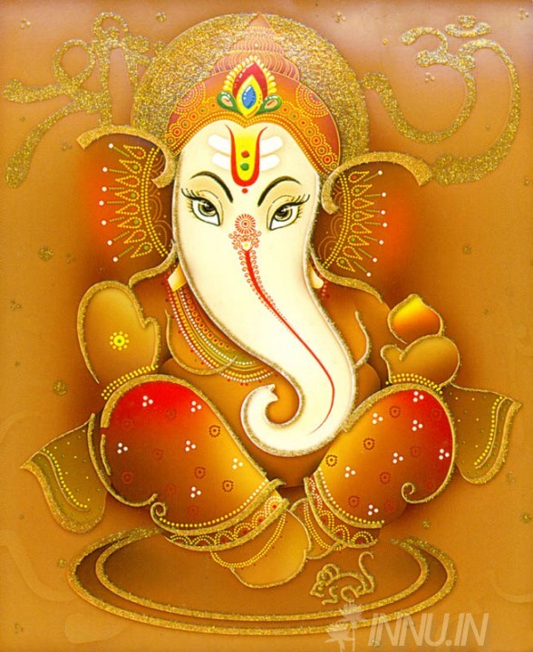 Buy Fine art painting Lord Ganapathi 5 by Artist Unknown Artist