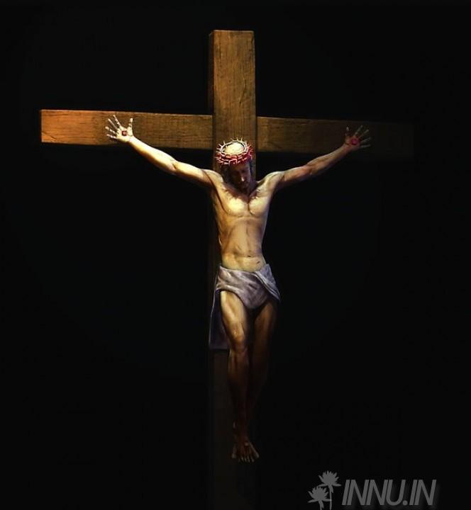 Buy Fine art painting Jesus christ in cross by Artist Unknown Artist