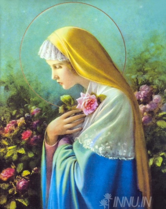 Buy Fine art painting Blessed Virgin Mary 2  by Artist Unknown Artist
