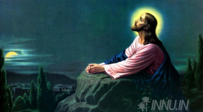 Buy Fine art painting Jesus Christ praying to the father by Artist Unknown Artist