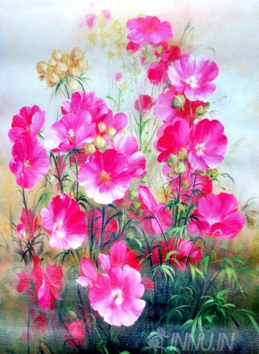 Buy Fine art painting Morning Blossom by Artist Unknown Artist