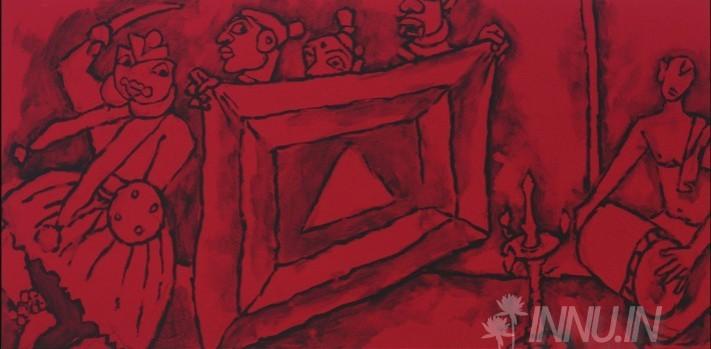 Buy Fine art painting Folklore Kerala - II by Artist Unknown Artist