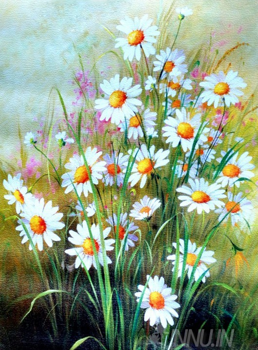 Buy Fine art painting Refreshing Flowers by Artist Unknown Artist