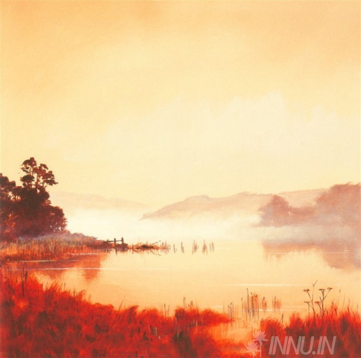 Buy Fine art painting Misty Morning 2 by Artist Unknown Artist