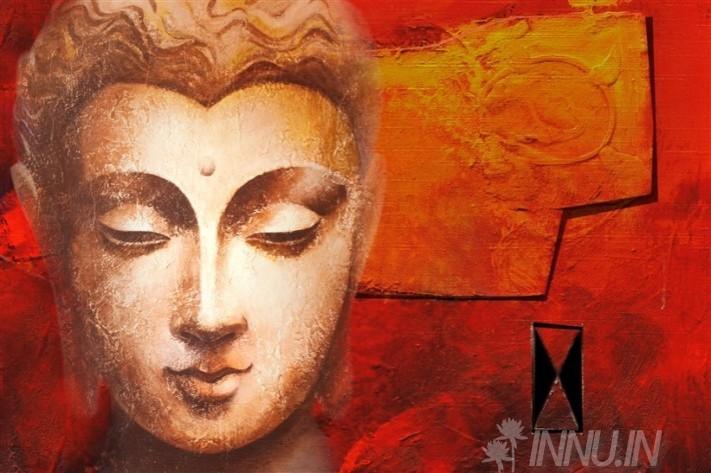 Buy Fine art painting Buddha1 by Artist Unknown Artist