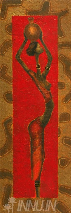 Buy Fine art painting African 1 by Artist Unknown Artist
