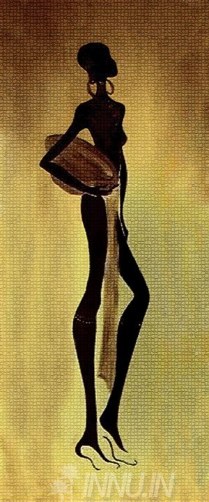 Buy Fine art painting African Woman 2  by Artist Unknown Artist