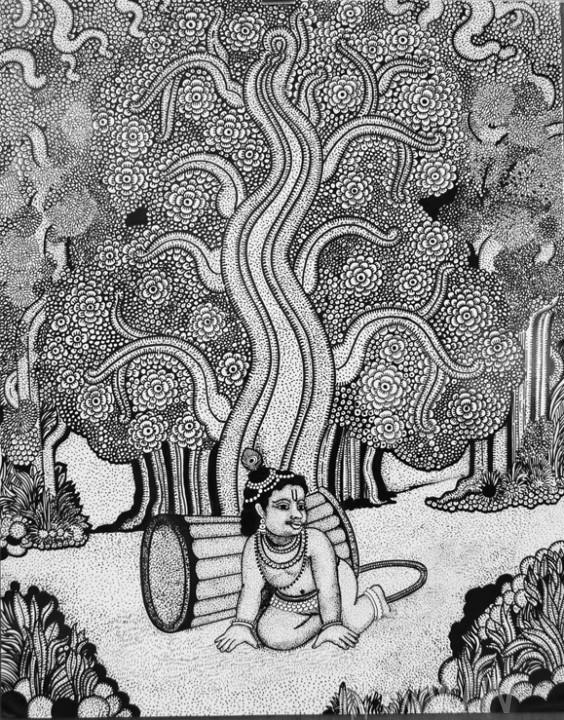 Buy Fine art painting Unni Kannan  by Artist Unknown Artist