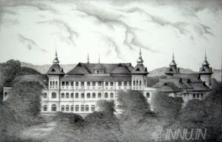 Buy Fine art painting Kowdiar Palace by Artist Unknown Artist