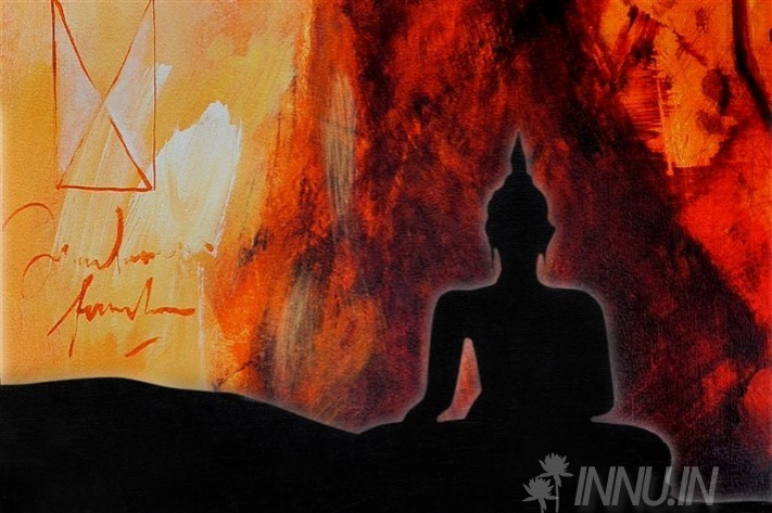 Buy Fine art painting Buddha's Meditation by Artist Unknown Artist