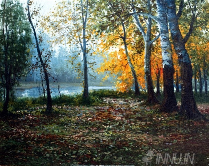 Buy Fine art painting Beautiful Autumn by Artist Unknown Artist