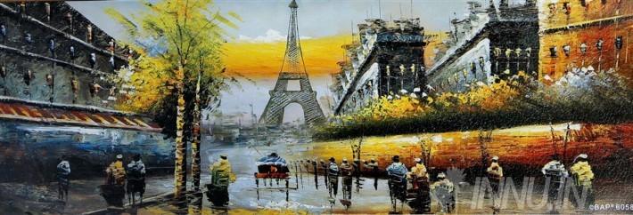Buy Fine art painting Eiffel Tower  by Artist Unknown Artist