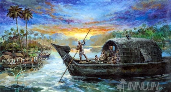 Buy Fine art painting Rural Backwater 1  by Artist Unknown Artist