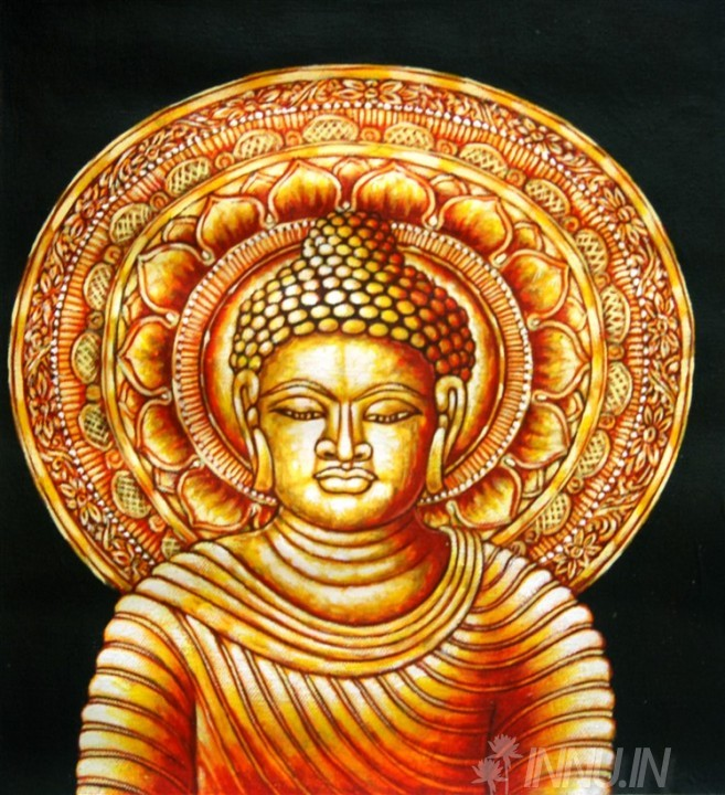 Buy Fine art painting Gautama Buddha 2 by Artist Unknown Artist