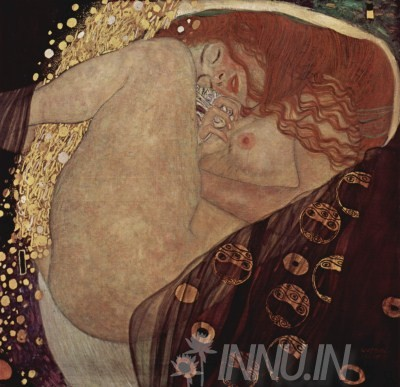 Buy Fine art painting Danaë by Artist Gustav Klimt