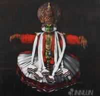 Fine art  - Kathakali by ArtistMopasang Valath
