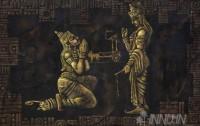 Fine art  - Devotional Geethopadeshamby ArtistMopasang Valath