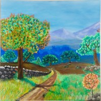 Fine art  - Walk Wayby ArtistJijo.T.Ponnu