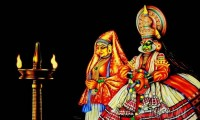 Fine art  - Kathakali pair by Artist