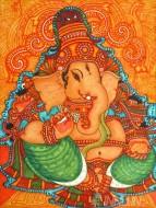Fine art  - Ganapati Muralby Artist