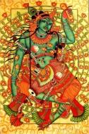 Fine art  - Krishnan with Mridangam