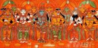 Fine art  - Sita Swayamvaram Mural by ArtistRajasekharan Parameswaran