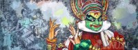Fine art  - Kathakali1by ArtistMartin