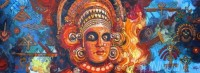 Fine art  - Theyyam by Artist Martin