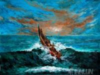 Fine art  - Fishermen seaboatby ArtistMartin