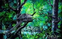 Fine art  - Tree hutby ArtistMartin