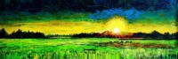 Fine art  - Sunrise by Artist Martin