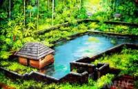 Fine art  - Village Pond by ArtistMartin