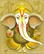 Fine art  - Lord Ganapathi 4