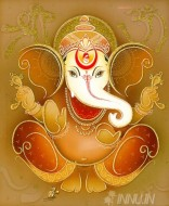 Fine art  - Lord Ganapathi 9 by Artist