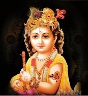 Fine art  - Lord Krishna with flute 2