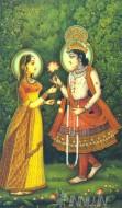 Fine art  - Radha and Krishna 2