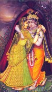Fine art  - Krishnan and Radha 5 by Artist