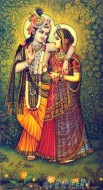 Fine art  - Krishnan and Radha 10 by Artist