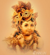 Fine art  - Lord Krishna playing flute 3