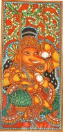 Fine art  - Ganapathi Mural 4 by Artist