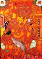 Fine art  - Ganapathi Mural 5
