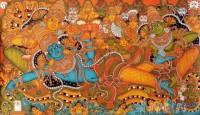 Fine art  - Mural Mahavishnu Ananthasayanam 2