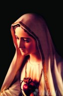 Fine art  - Blessed Virgin Mary by Artist