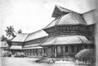 Fine art  - Kuthiramalika Palaceby ArtistMahesh