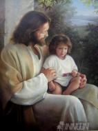 Fine art  - Jesus with a kidby Artist