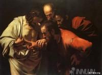 Fine art  - The Incredulity of Saint Thomas by ArtistCaravaggio