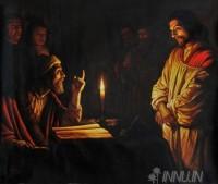 Fine art  - Jesus before the sanhedrin