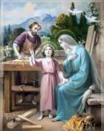 Fine art  - Joseph Mary & Jesus