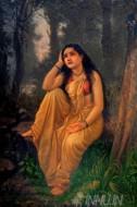 Fine art  - Damayanti Forlornby ArtistRaja Ravi Varma