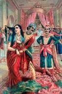 Fine art  - Draupadi Vastrakshepam by ArtistRaja Ravi Varma